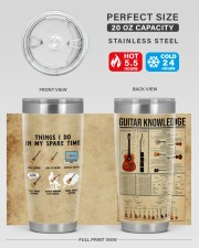 LIMITED EDITION - GUITAR KNOWLEDGE - 90054TU 20oz Tumbler aos-20oz-tumbler-lifestyle-front-60