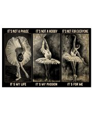 LIMITED EDITION - BALLET - 80310P 17x11 Poster front