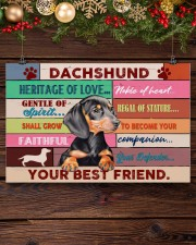 LIMITED EDITION - DOG DACHSHUND 11002A 17x11 Poster aos-poster-landscape-17x11-lifestyle-27