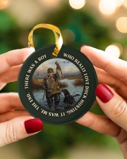 LIMITED EDITION - DUCK HUNTING - 60008TU Circle ornament - single (porcelain) aos-circle-ornament-single-porcelain-lifestyles-08