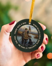 LIMITED EDITION - DUCK HUNTING - 60008TU Circle ornament - single (porcelain) aos-circle-ornament-single-porcelain-lifestyles-09