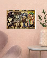 LIMITED EDITION - HIPPIE GIRL - POS90518A 17x11 Poster poster-landscape-17x11-lifestyle-22