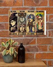 LIMITED EDITION - HIPPIE GIRL - POS90518A 17x11 Poster poster-landscape-17x11-lifestyle-23