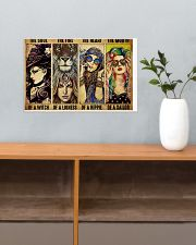 LIMITED EDITION - HIPPIE GIRL - POS90518A 17x11 Poster poster-landscape-17x11-lifestyle-24