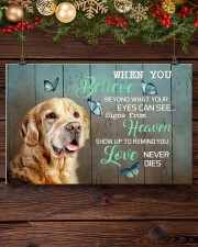 LIMITED EDITION - DOG Golden Retriever 11006A 17x11 Poster aos-poster-landscape-17x11-lifestyle-27