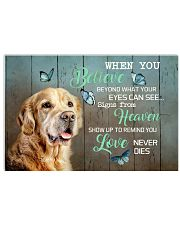 LIMITED EDITION - DOG Golden Retriever 11006A 17x11 Poster front