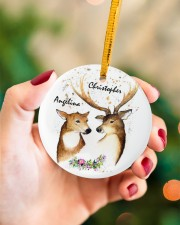 LIMITED EDITION - TO MY WIFE - 90126TU Circle ornament - single (porcelain) aos-circle-ornament-single-porcelain-lifestyles-09