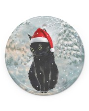 LIMITED EDITION - CAT LOVERS 10914A Circle ornament - single (porcelain) front