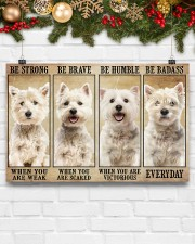 LIMITED EDITION - DOG WESTIE 11012A 17x11 Poster aos-poster-landscape-17x11-lifestyle-28