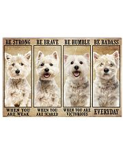 LIMITED EDITION - DOG WESTIE 11012A 17x11 Poster front
