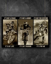 LIMITED EDITION - MOTOCROSS - 80306P 17x11 Poster aos-poster-landscape-17x11-lifestyle-12