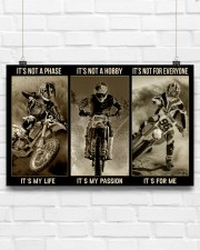 LIMITED EDITION - MOTOCROSS - 80306P 17x11 Poster aos-poster-landscape-17x11-lifestyle-17