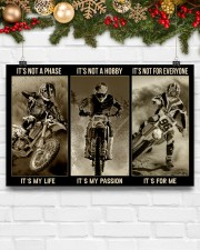 LIMITED EDITION - MOTOCROSS - 80306P 17x11 Poster aos-poster-landscape-17x11-lifestyle-28
