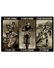 LIMITED EDITION - MOTOCROSS - 80306P 17x11 Poster front