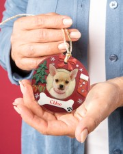 LIMITED EDITION - DOG LOVERS - 80219P Circle ornament - single (porcelain) aos-circle-ornament-single-porcelain-lifestyles-01