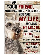 LIMITED EDITION - DOG SCHNAUZER LOVERS 10973A 11x17 Poster front