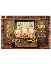LIMITED EDITION - FARMER PIG LOVERS - 80251P 17x11 Poster front