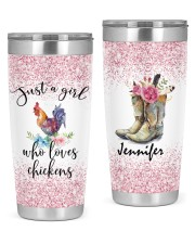 LIMITED EDITION - LOVES CHICKEN - 90052TU 20oz Tumbler front
