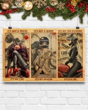 LIMITED EDITION - MOTORCYCLE LOVERS 11084A 17x11 Poster aos-poster-landscape-17x11-lifestyle-28