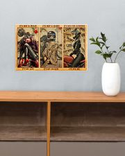 LIMITED EDITION - MOTORCYCLE LOVERS 11084A 17x11 Poster poster-landscape-17x11-lifestyle-24