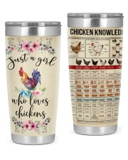LIMITED EDITION - CHICKEN KNOWLEDGE - 80215TU 20oz Tumbler front