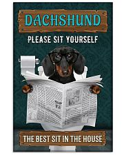 LIMITED EDITION - DOG DACHSHUND LOVERS 10992A 11x17 Poster front