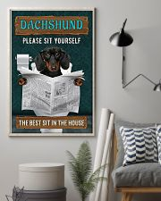 LIMITED EDITION - DOG DACHSHUND LOVERS 10992A 11x17 Poster lifestyle-poster-1