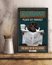 LIMITED EDITION - DOG DACHSHUND LOVERS 10992A 11x17 Poster lifestyle-poster-3