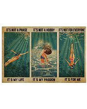 LIMITED EDITION - SWIMMING - POS90317TU 17x11 Poster front