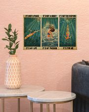 LIMITED EDITION - SWIMMING - POS90317TU 17x11 Poster poster-landscape-17x11-lifestyle-21