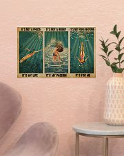 LIMITED EDITION - SWIMMING - POS90317TU 17x11 Poster poster-landscape-17x11-lifestyle-22
