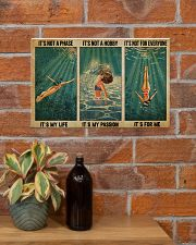 LIMITED EDITION - SWIMMING - POS90317TU 17x11 Poster poster-landscape-17x11-lifestyle-23