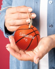 LIMITED EDITION - BASKETBALL - 80226P Circle ornament - single (porcelain) aos-circle-ornament-single-porcelain-lifestyles-01