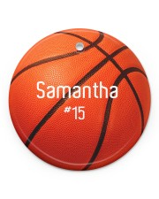 LIMITED EDITION - BASKETBALL - 80226P Circle ornament - single (porcelain) front