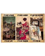 LIMITED EDITION - SEWING - 60053P 17x11 Poster front