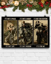 LIMITED EDITION - MOTORCYCLE 11069A 17x11 Poster aos-poster-landscape-17x11-lifestyle-28