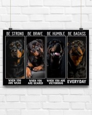 LIMITED EDITION - DOG LOVERS - 6979P 17x11 Poster aos-poster-landscape-17x11-lifestyle-17
