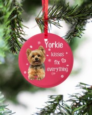 LIMITED EDITION - DOG YORKSHIRE 90053AA Circle ornament - single (porcelain) aos-circle-ornament-single-porcelain-lifestyles-07