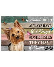 LIMITED EDITION - DOG YORKSHIRE LOVERS 90046A 17x11 Poster front