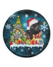 LIMITED EDITION - CAT LOVERS 10888A Circle ornament - single (porcelain) front