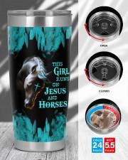 LIMITED EDITION - HORSES - 90153TU 20oz Tumbler aos-20oz-tumbler-lifestyle-front-45