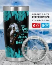 LIMITED EDITION - HORSES - 90153TU 20oz Tumbler aos-20oz-tumbler-lifestyle-front-49