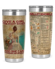 LIMITED EDITION - BALLET KNOWLEDGE - 10933TU 20oz Tumbler front