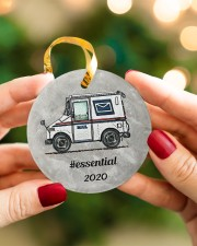 LIMITED EDITION - MAIL TRUCK  - 80318P Circle ornament - single (porcelain) aos-circle-ornament-single-porcelain-lifestyles-08
