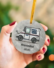 LIMITED EDITION - MAIL TRUCK  - 80318P Circle ornament - single (porcelain) aos-circle-ornament-single-porcelain-lifestyles-09