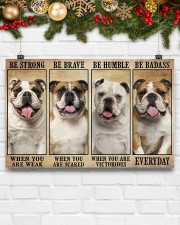 LIMITED EDITION - DOG BULLDOG 11011A 17x11 Poster aos-poster-landscape-17x11-lifestyle-28
