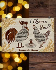 LIMITED EDITION - CHICKEN LOVERS - 80340P  17x11 Poster aos-poster-landscape-17x11-lifestyle-29