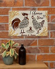 LIMITED EDITION - CHICKEN LOVERS - 80340P  17x11 Poster poster-landscape-17x11-lifestyle-23