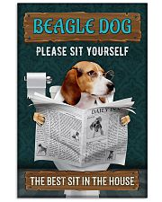 LIMITED EDITION - DOG BEAGLE LOVERS 10991A 11x17 Poster front