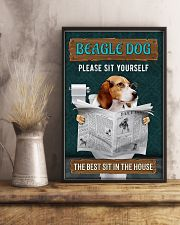 LIMITED EDITION - DOG BEAGLE LOVERS 10991A 11x17 Poster lifestyle-poster-3